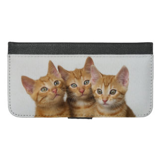 Three Cute Ginger Cat Kittens Photo - protect iPhone 6/6s Plus Wallet Case