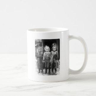 Three Cute Little Girls Vintage South Carolina Mug