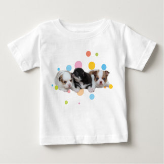 Three Cute Puppies (dogs) Baby T-Shirt