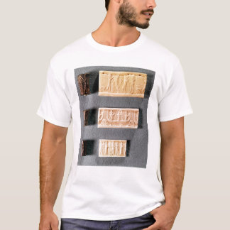 Three cylinder seals with impressions, T-Shirt