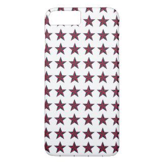 Three-D Patriotic Stars iPhone 7 Plus Case