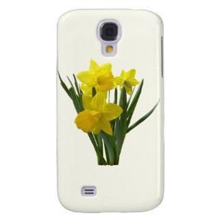Three Daffodils Standing Guard Galaxy S4 Case