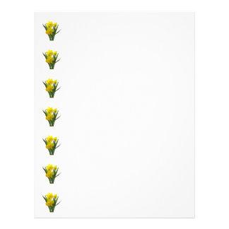 Three Daffodils Standing Guard Flyer Design