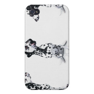 Three Dalmatians iPhone 4/4S Covers