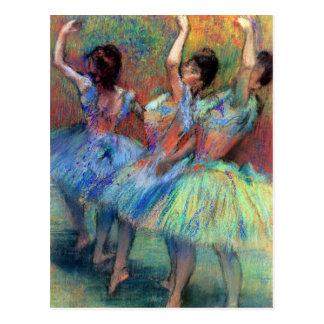 Three Dancers by Degas Postcard