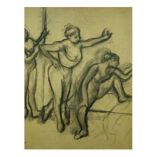Three Dancers, c.1900 Post Cards