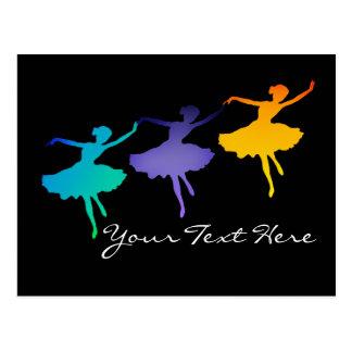 Three Dancers Postcard