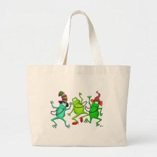 Three Dancing Frogs Bags