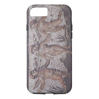 Three dancing putti accompanied by one playing the iPhone 8/7 case