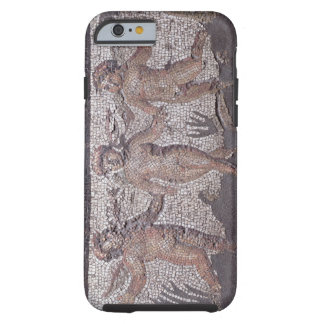 Three dancing putti accompanied by one playing the tough iPhone 6 case