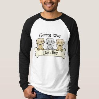 Three Dandie Dinmont Terriers Tshirt