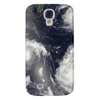 Three different typhoons galaxy s4 case