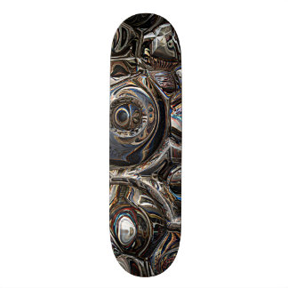 Three Dimensional Reflections 19.7 Cm Skateboard Deck