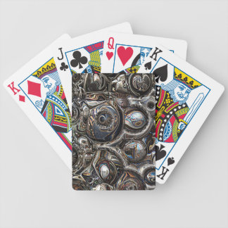 Three Dimensional Reflections Bicycle Playing Cards
