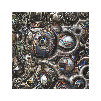 Three Dimensional Reflections Canvas Print