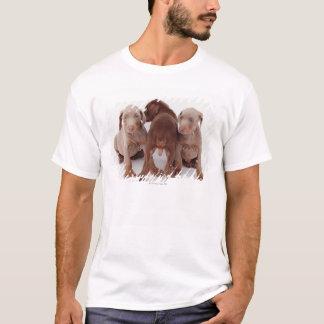 Three Doberman pinscher puppies T-Shirt