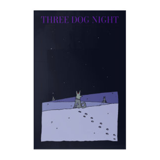 Three Dog Night Acrylic Print