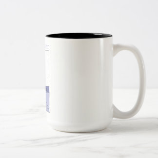Three Dog Night Two-Tone Coffee Mug