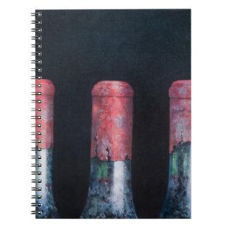 Three dusty clarets 2012 note books