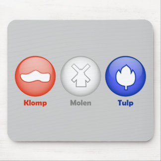 Three Dutch Icons Mouse Pad