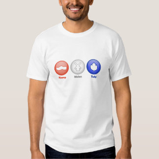 Three Dutch Icons Tee Shirt