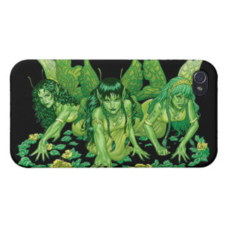 Three Earth Fairies Fantasy Art by Al Rio Covers For iPhone 4
