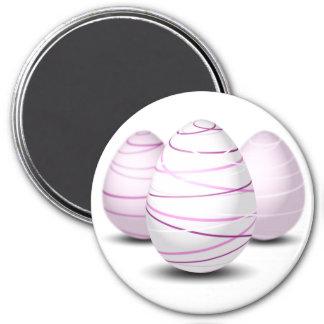 Three Easter Eggs Magnet