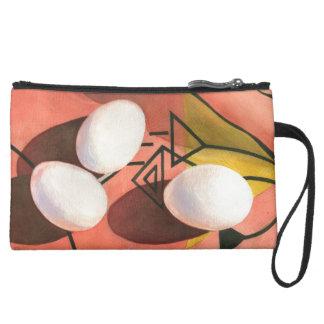 """Three Eggs Deco"" Cosmetic Bag"