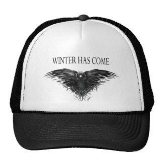 Three eyed raven! Game of thrones new season! Cap