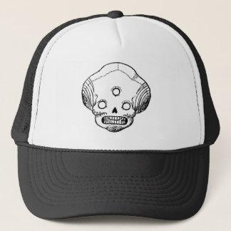 Three Eyed Skull Trucker Hat