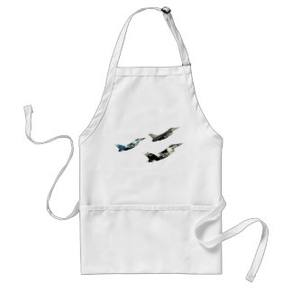 Three F16 Falcons Adult Apron