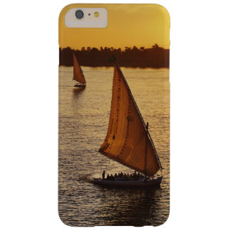 Three falukas with sightseers on Nile River at Barely There iPhone 6 Plus Case