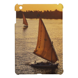 Three falukas with sightseers on Nile River at Case For The iPad Mini