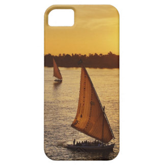 Three falukas with sightseers on Nile River at Case For The iPhone 5