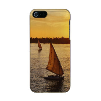 Three falukas with sightseers on Nile River at Incipio Feather® Shine iPhone 5 Case