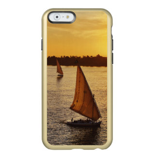 Three falukas with sightseers on Nile River at Incipio Feather® Shine iPhone 6 Case