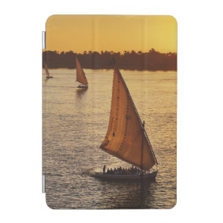 Three falukas with sightseers on Nile River at iPad Mini Cover