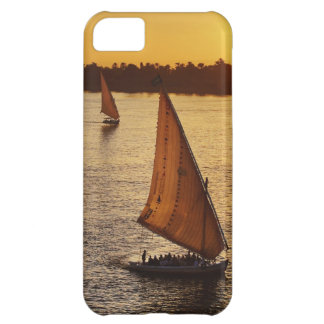 Three falukas with sightseers on Nile River at iPhone 5C Case