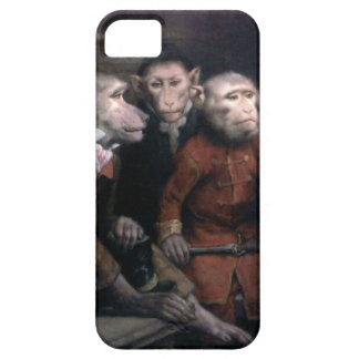 Three Fancy Monkeys iPhone 5 Cover