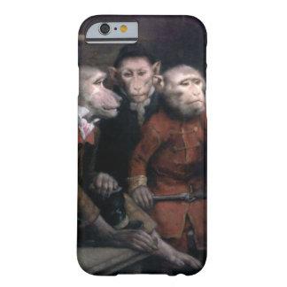 Three Fancy Monkeys iPhone 6 Case