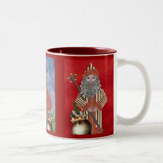 Three Fathers Christmas Two-Tone Mug