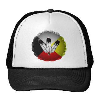 Three Feathers Trucker Hats