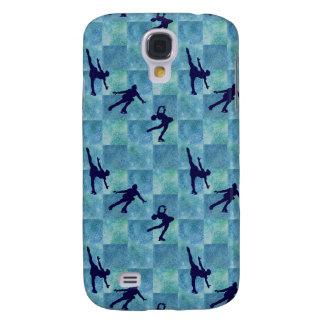 Three Figure Skaters on Aqua Squares HTC Vivid Cases