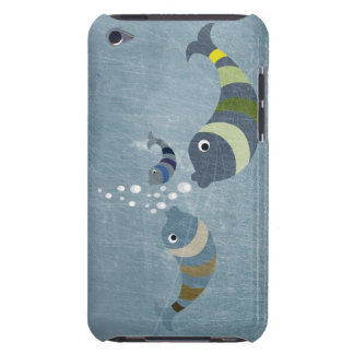 Three Fish Barely There iPod Cases