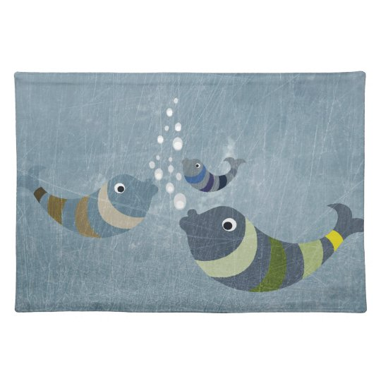 Three Fish Placemat