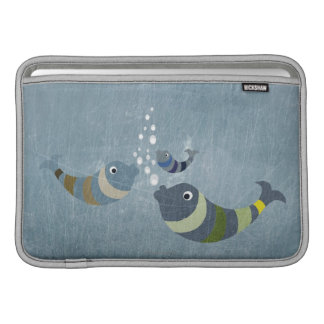 Three Fish Sleeve For MacBook Air