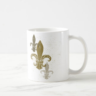 Three Fleur De Lis Coffee Mug