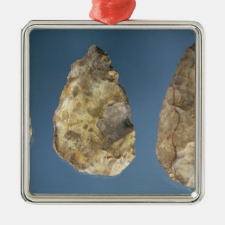 Three flint tools christmas ornament