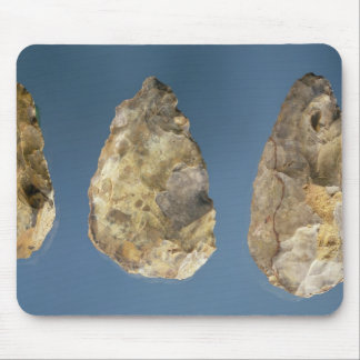 Three flint tools mouse mat