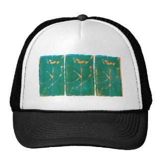 Three Flowers - Washington DC Trucker Hats